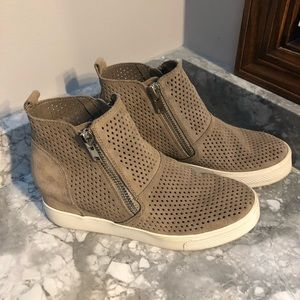Steve Madden wedge sneakers, 8.5